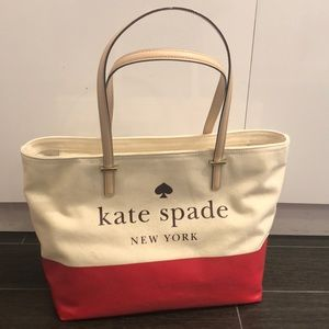 Kate Spade Tote - Coated Canvas